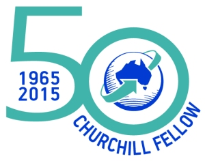 WCMT Logo 50th 2015 Churchill Fellow